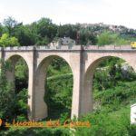 viadotto in 7 archi di luce di m 15,00 al km 78+989